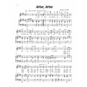 Arise! Arise! Solo Sheet