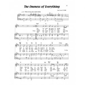 Oneness of Everything Solo Sheet