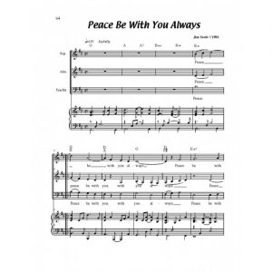 Peace Be With You Always Solo Sheet
