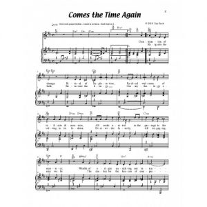 Comes the Time Again Solo Sheet