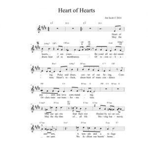Heart of Hearts Solo Sheet