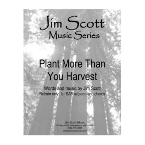 Plant More Than You Harvest